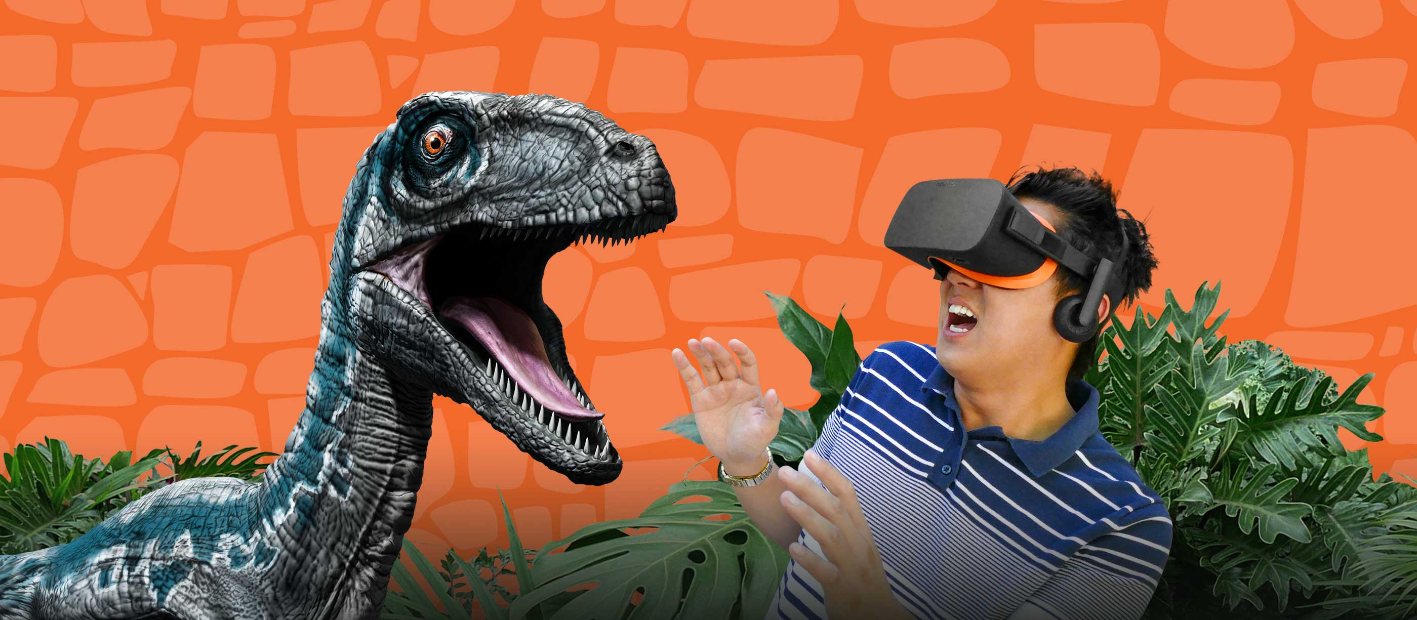 Jurassic World: Blue VR Experience