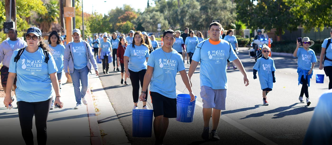 ONE DROP's Walk for Water