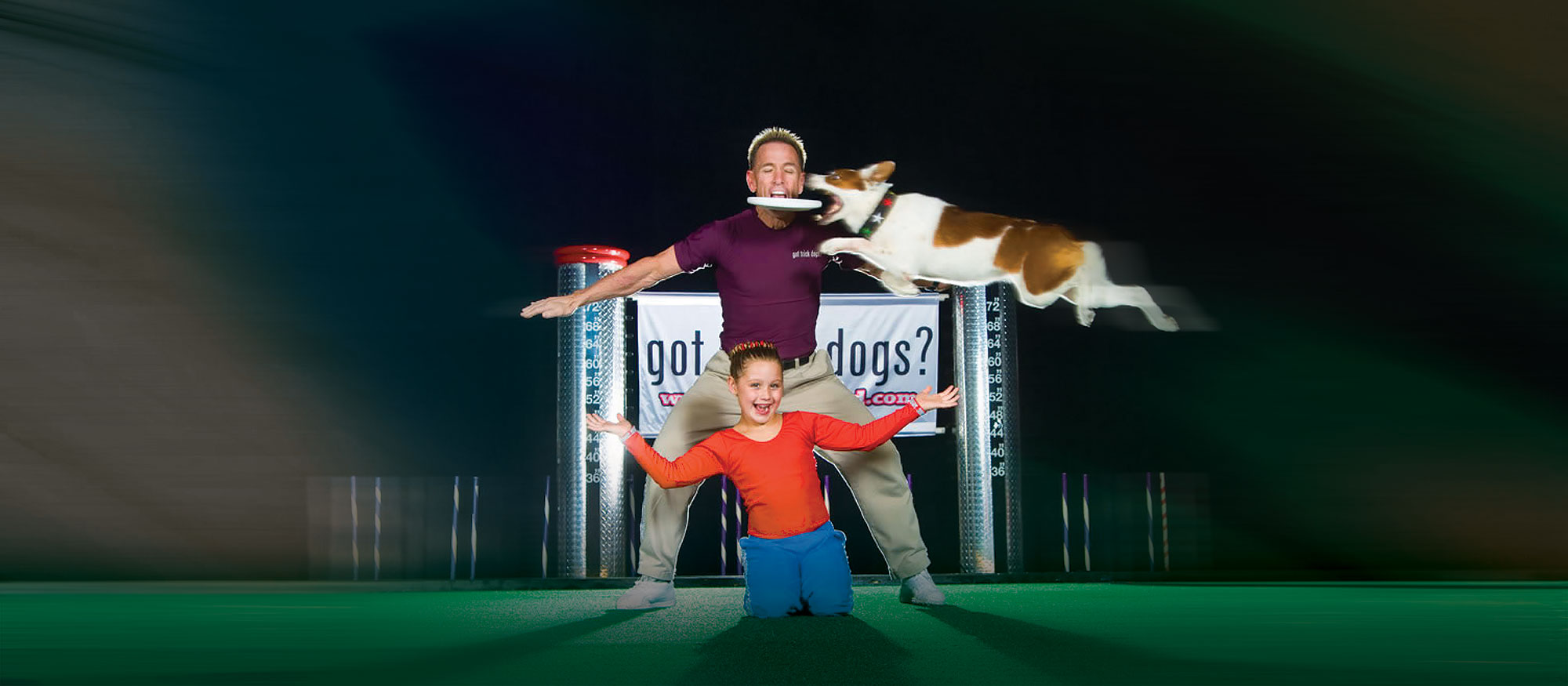 Performers of Jump! The Ultimate Dog Show