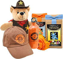 A variety of merchandise from the Springs Preserve online gift shop.
