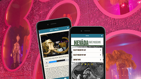 Nevada State Museum gallery guide app